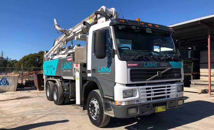 24m concrete pump truck
