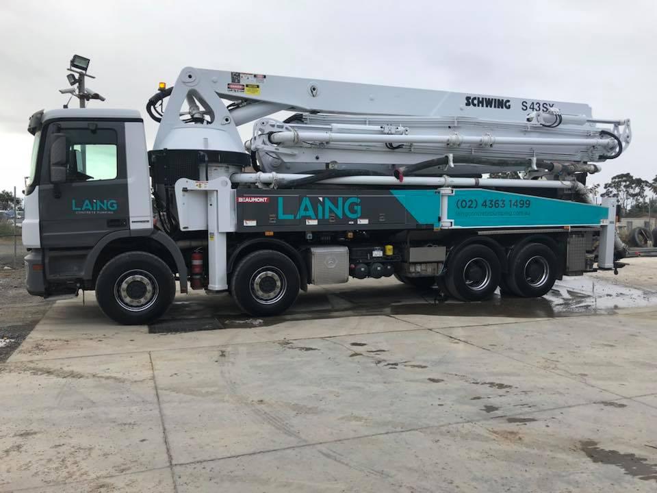 43m concrete pump truck