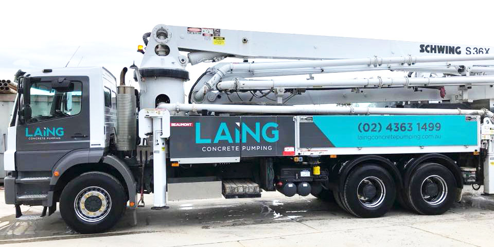 Schwing S36X 36m Concrete Boom Pump
