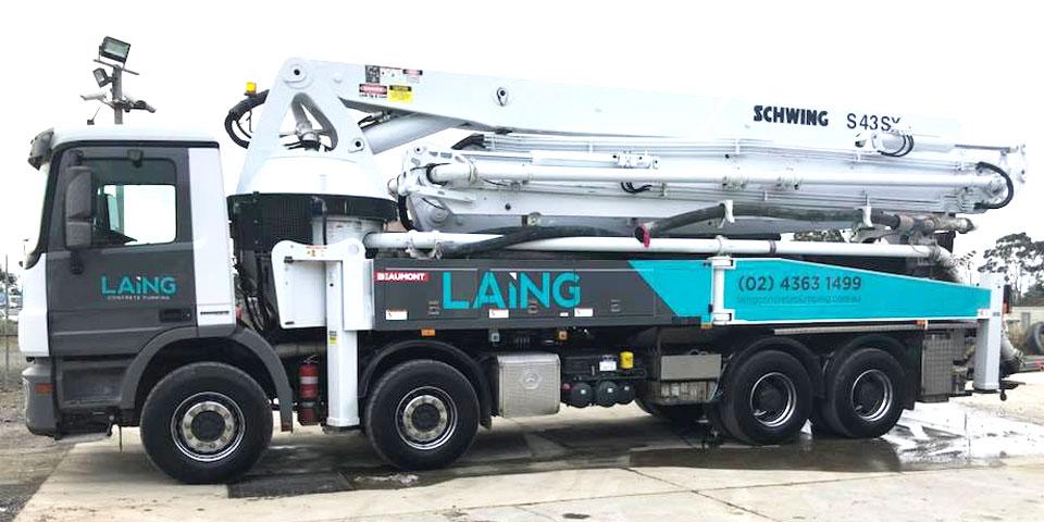 Schwing S43SXII 43m Concrete Boom Pump
