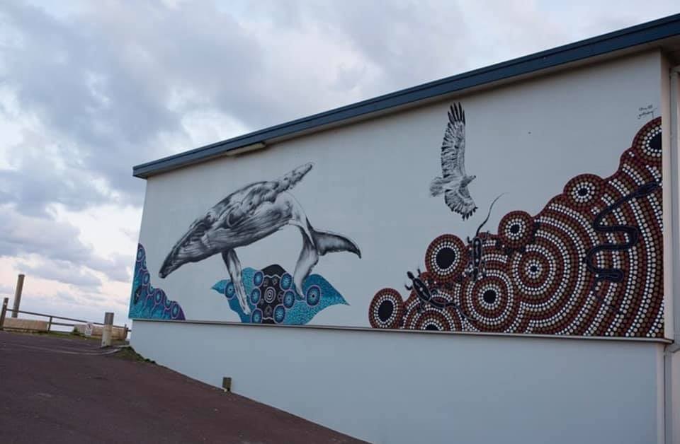 North Entrance Surf Club Mural